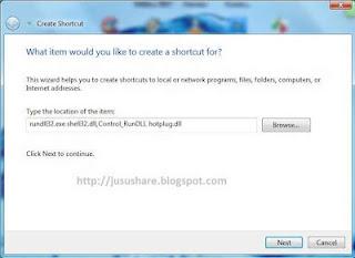 cara membuat shortcut