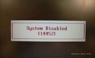 lupa password bios laptop code error